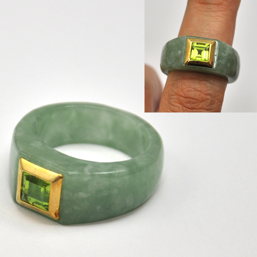 Jadeiidist sõrmused